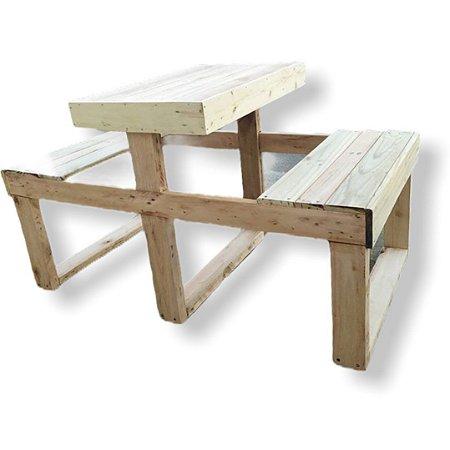 Mesa de pic nic para 4 pessoas