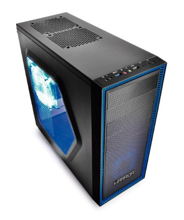 Gabinete Multilaser Gamer Warrior 03 Cooler C/ LED Ga134