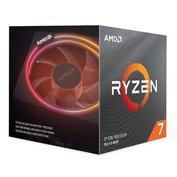 Processador AMD Ryzen 7 3800X Cache 32MB 3.9GHz (4.5GHz Max Turbo) AM4