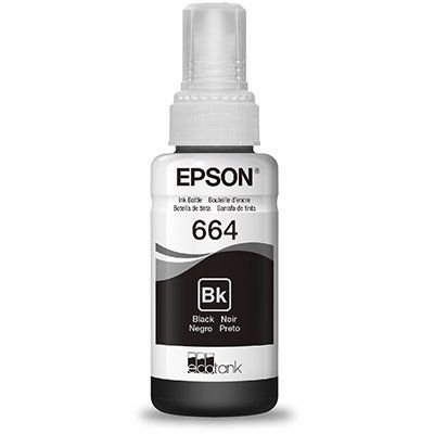 Refil p/Ecotank preto T664120AL Epson PT 1 UN
