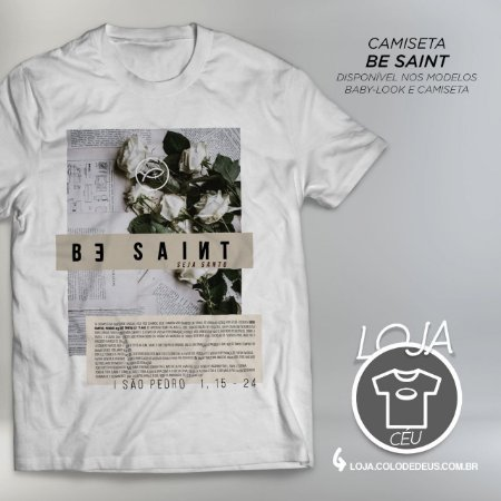 Camiseta Be Saint