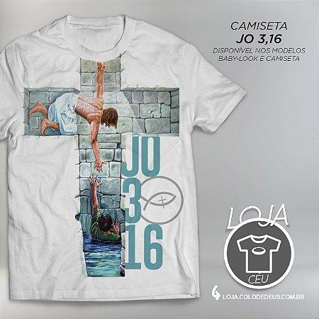 Camiseta Jo 3, 16