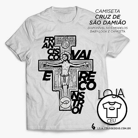 Camiseta Cruz de São Damião