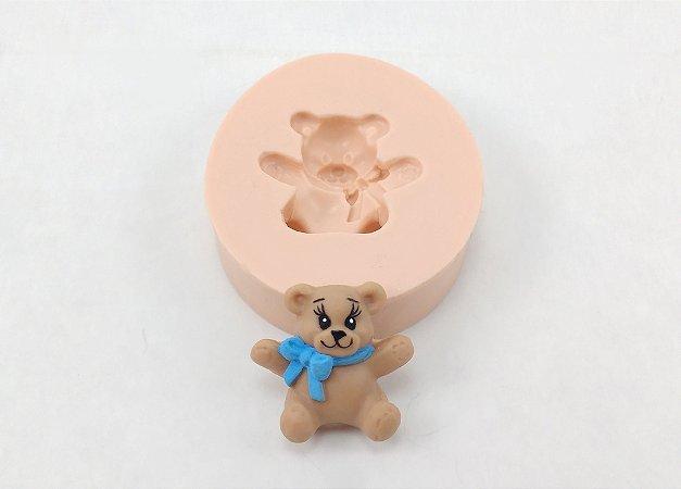 1020 - Urso com Laço pequeno