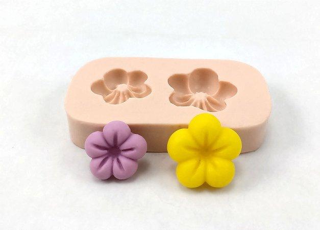 424 - 2 Flores com Marcação
