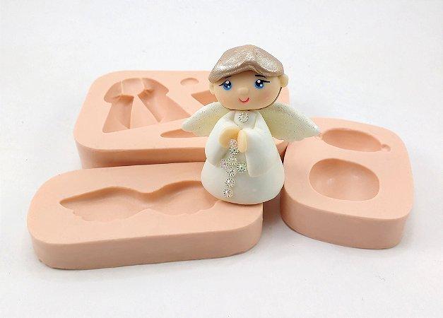 1027 - Anjo de Montar 3D