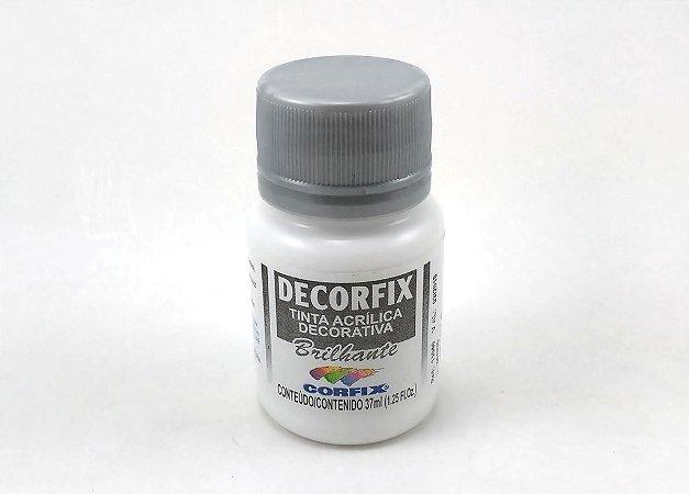 Tinta Acrílica DECORFIX - Brilhante- 37 ml. - Branco