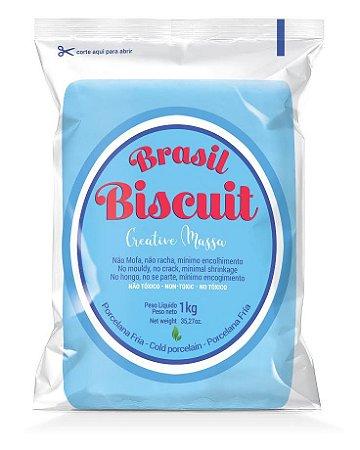 Massa Brasil Biscuit - 1K. azul céu