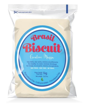 Massa Brasil Biscuit - 1K. pele clara