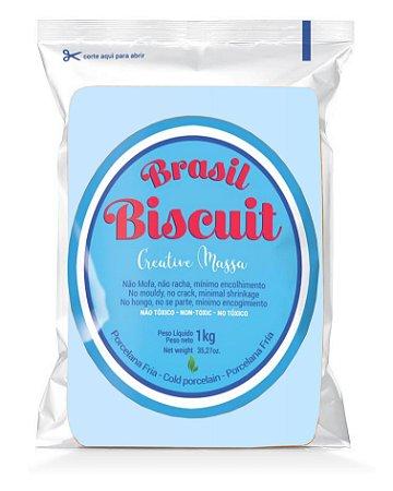 Massa Brasil Biscuit - 1K. azul bebê