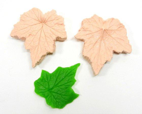 445 - Folha de uva 3D