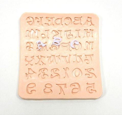 407 - Alfabeto com números