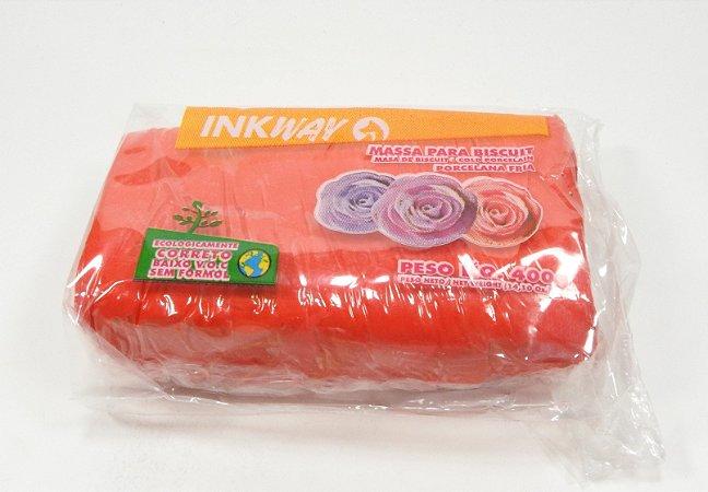 MASSA INKWAY - vermelho chines - 400 gr.