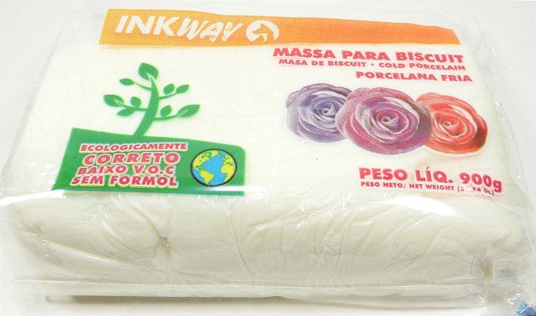 MASSA INKWAY - branco - 900 gr.