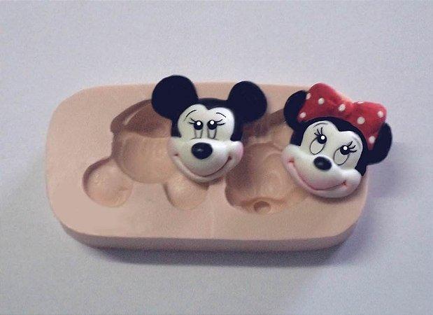851 - Cara de Mickey e Minie