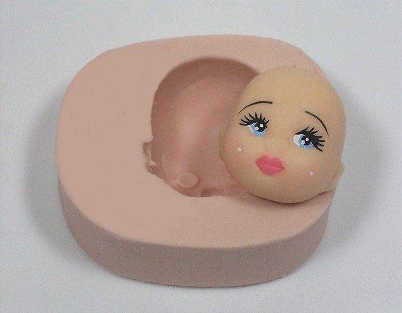 458 - Rosto de bebê fofo
