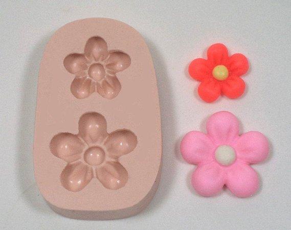 985 - 2 flores com miolo