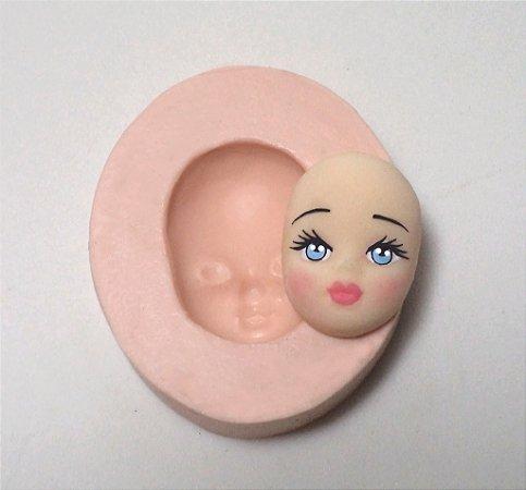 068 - Rosto de Dama Pequeno