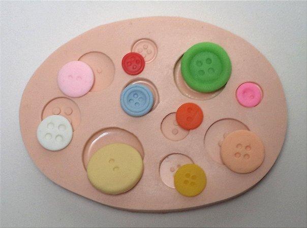 080 - Kit Botões com 10 Modelos