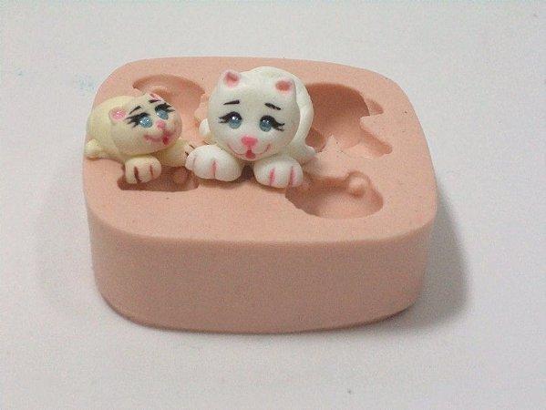 232 - 2 Gatinhos mini 3D