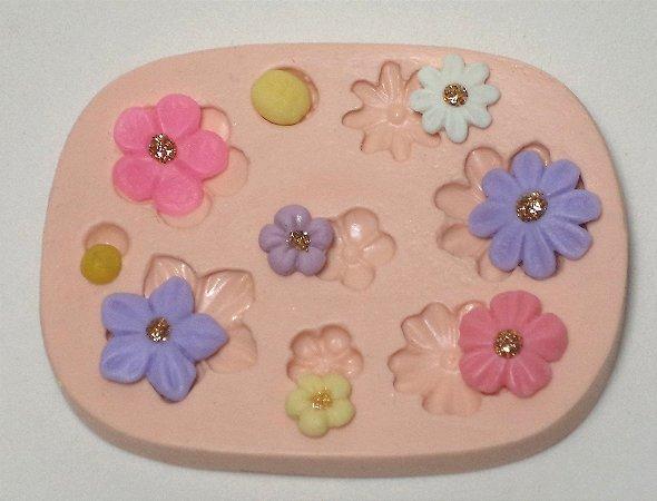 170 - Kit-flores pequenas
