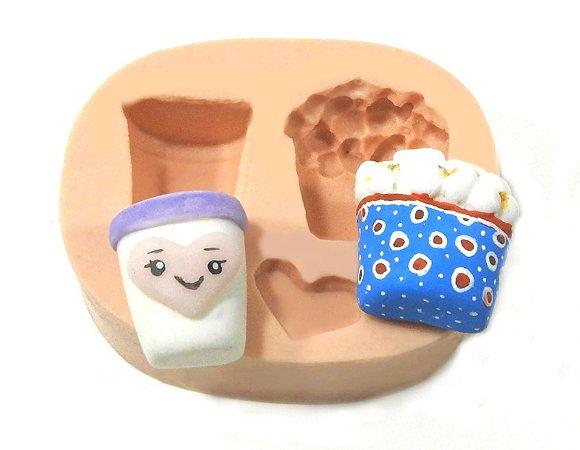 513 - Pipoca e refrigerante minis