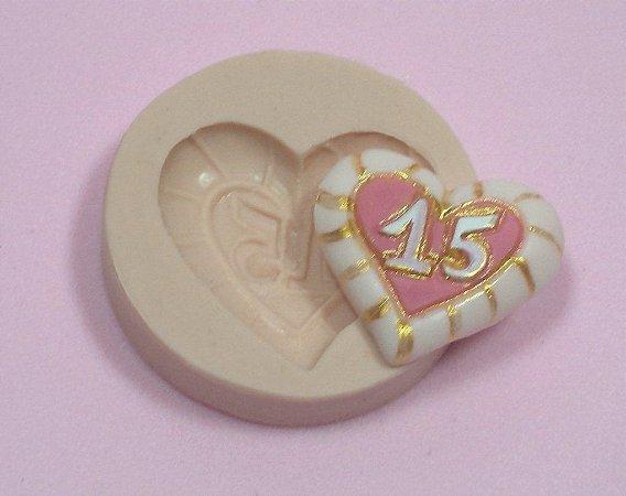 636 - Coração 15 anos
