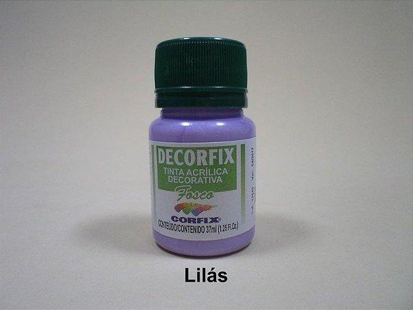 Tinta Acrílica DECORFIX - Fosca - 37 ml. - Lilás