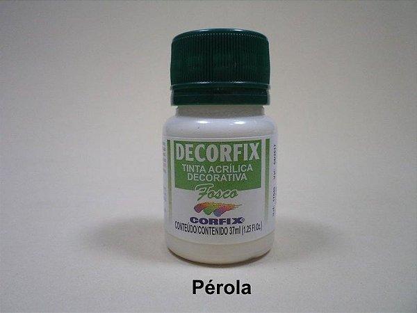 Tinta Acrílica DECORFIX - Fosca - 37 ml. - Perola