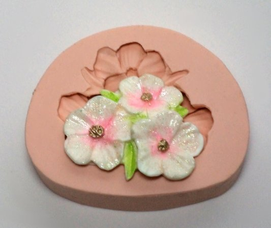 955 - 3 Flores juntas