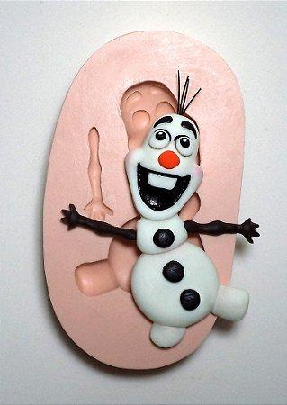 858 - Olaf Frozen Imãs 2D