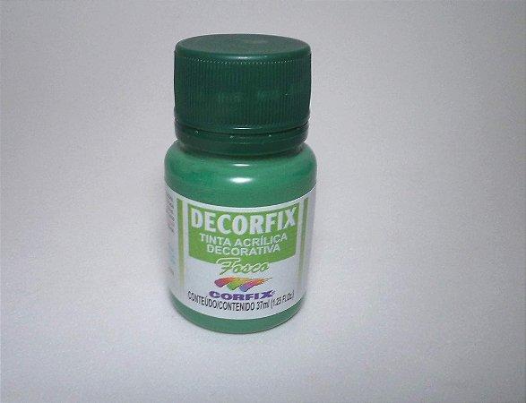 Tinta Acrílica DECORFIX - Fosca - 37 ml. - Verde Seco