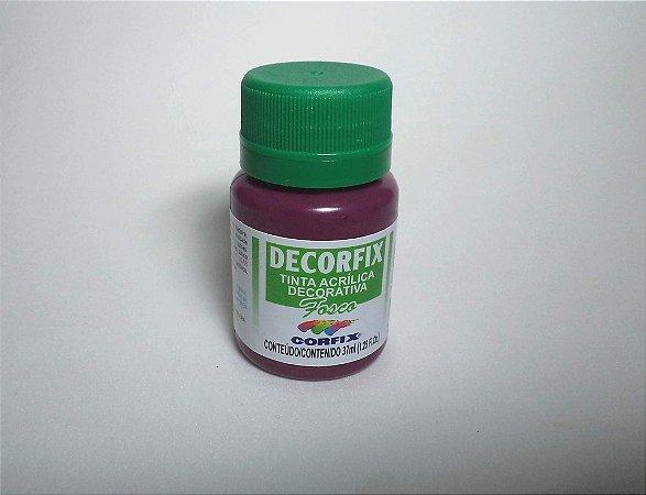 Tinta Acrílica DECORFIX - Fosca - 37 ml. - Amora
