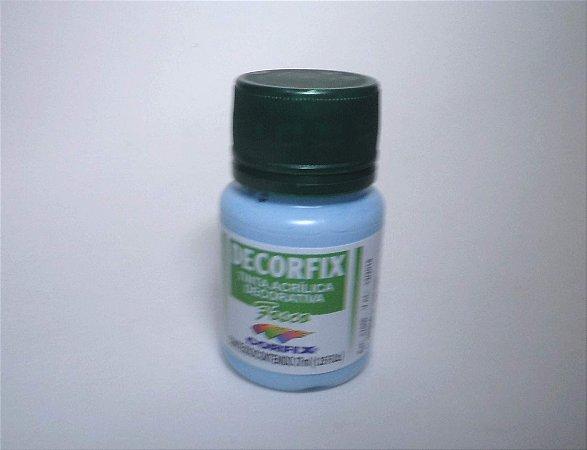 Tinta Acrílica DECORFIX - Fosca - 37 ml. - Azul Bebê