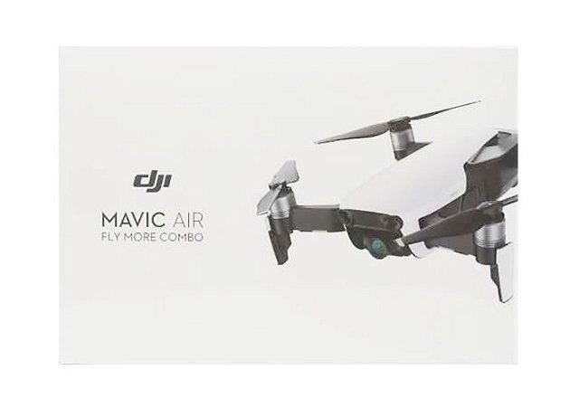 Drone DJI Mavic Air Combo Fly More com ANATEL - Branco