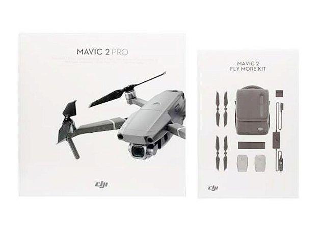 Drone DJI Mavic 2 Pro Combo Fly More com ANATEL