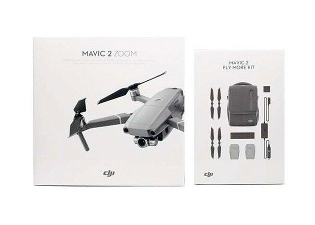 Drone DJI Mavic 2 Zoom Combo Fly More com ANATEL