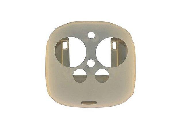 Capa Proteção de Silicone Cinza para Controle de Drone Phantom 4