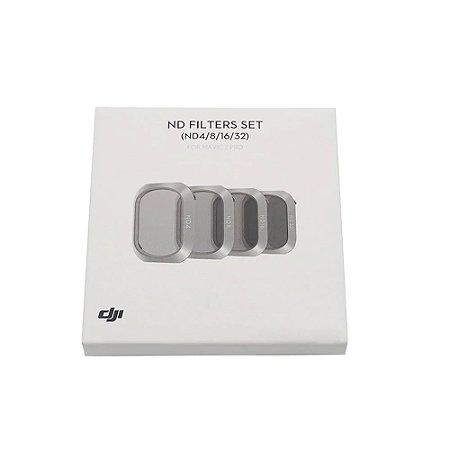 Kit Filtros da Câmera do Drone DJI Mavic 2 Pro ND4/8/16/32