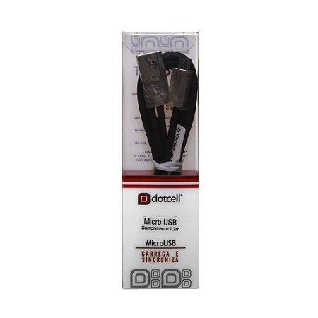 Cabo USB DC-CD3002 MIC.USB (Preto) (1m)