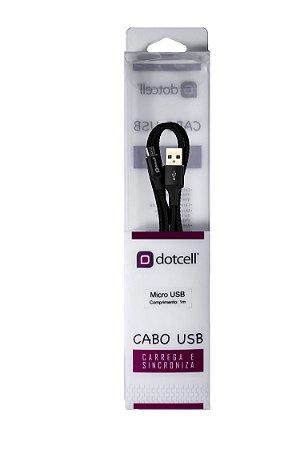 Cabo USB DC-1113 Micro USB(Preto)
