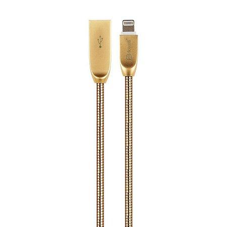 Cabo USB DC-1078 IPH6 (Dourado) (1,2m)