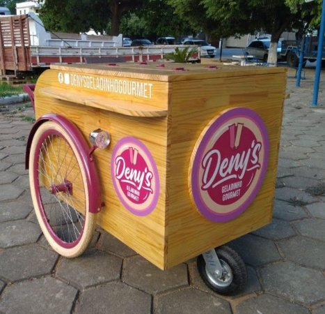 Carrinho Gourmet - Food Cart