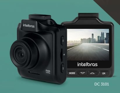 Câmera Veicular Full HD Intelbras DC3101