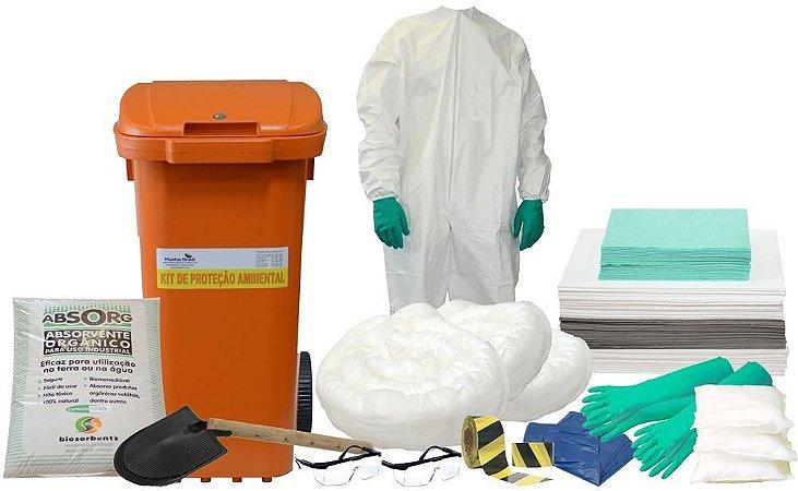 Kit Proteção Ambiental 240 litros – Linha Branca – Container