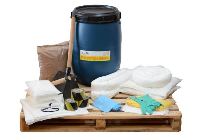 Kit Proteção Ambiental 100 litros – Linha Branca – Bombona