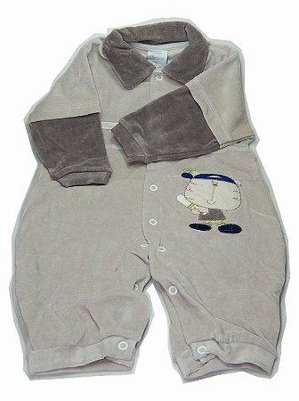 Macacão Plush Bebê Precioso