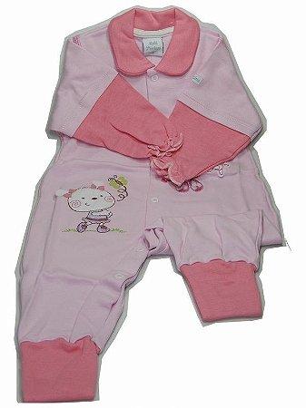 Macacão Suedine Bebê Precioso