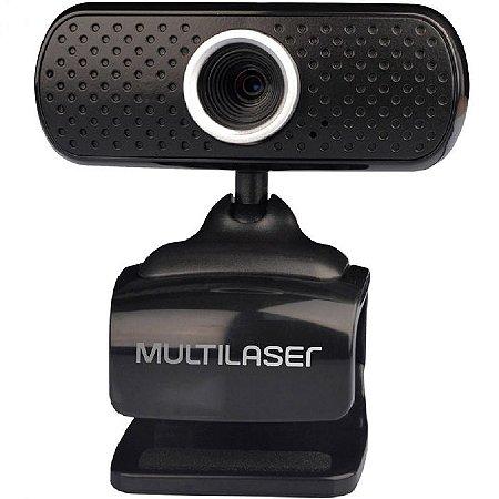 Web Cam Multilaser WC051 Webcam 480p Plug&play 16 Mpx