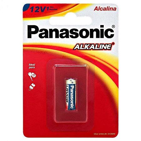 Pilha Alcalina 12V A23 para controle de alarme Panasonic Bateria